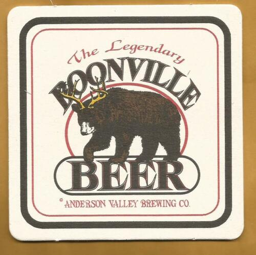 16 Anderson Valley Boonville Beer Coaster