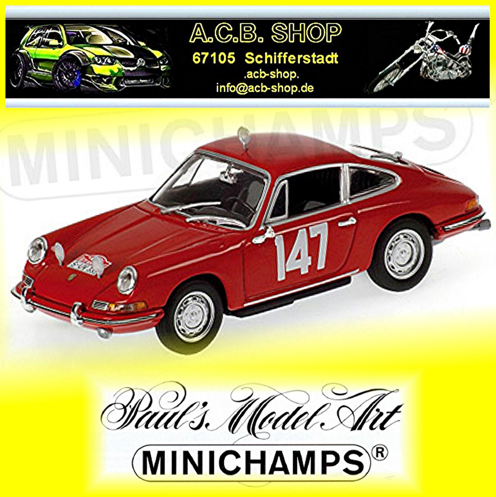 Porsche 911 Rallye Monte-carlo 1965 1965 1965 Classe Gangant Linge Falk  147 1 43 80a9b3