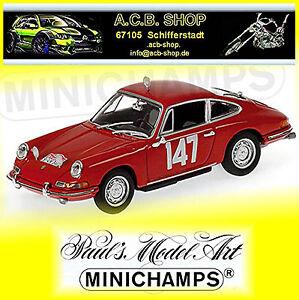 Porsche-911-Rallye-Monte-Carlo-1965-Class-Winner-Linge-Falk-147-1-43-Minichamps
