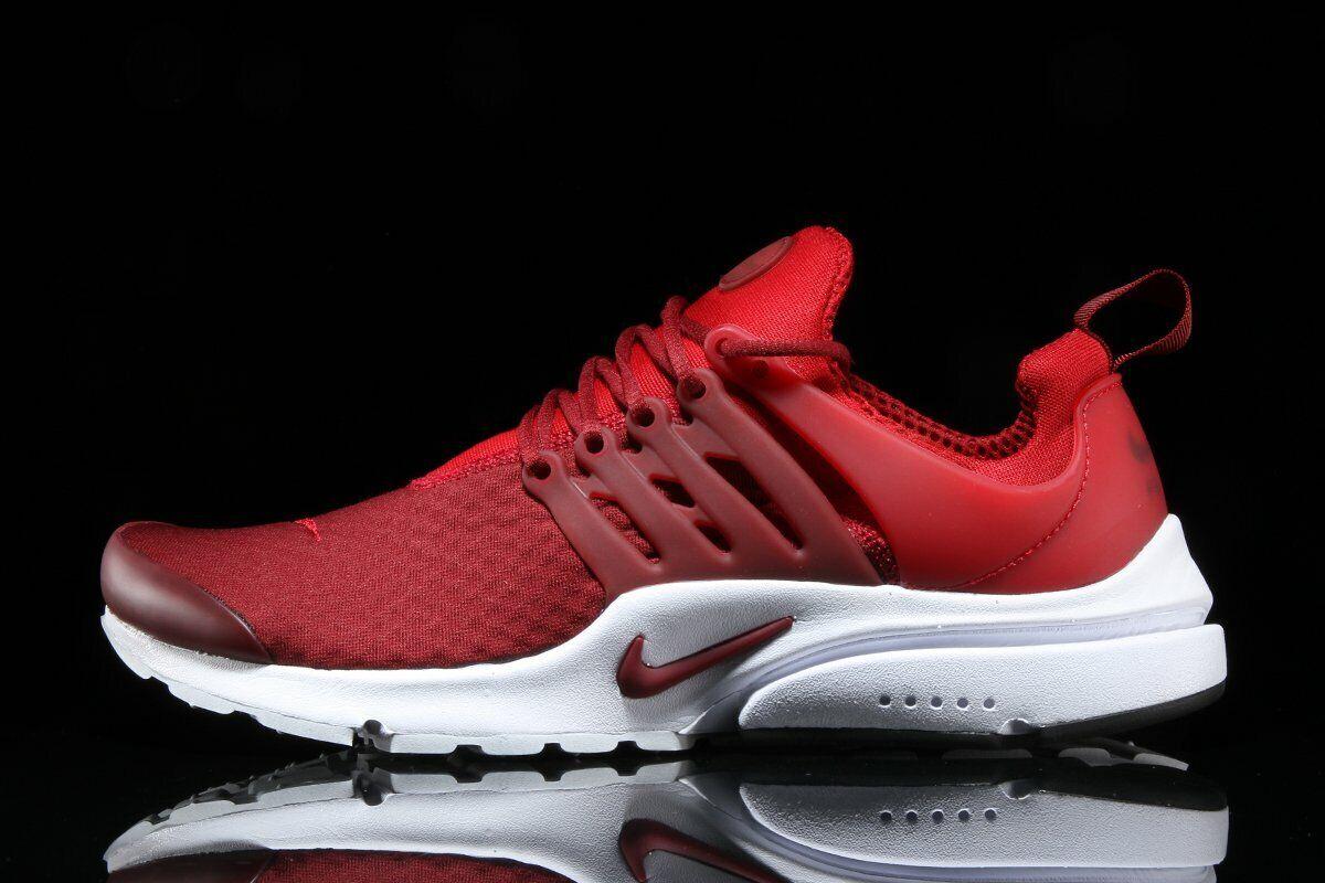 Nike Air Presto Esencial Equipo Rojo Gimnasio blancoo Hombre Running 848187-605