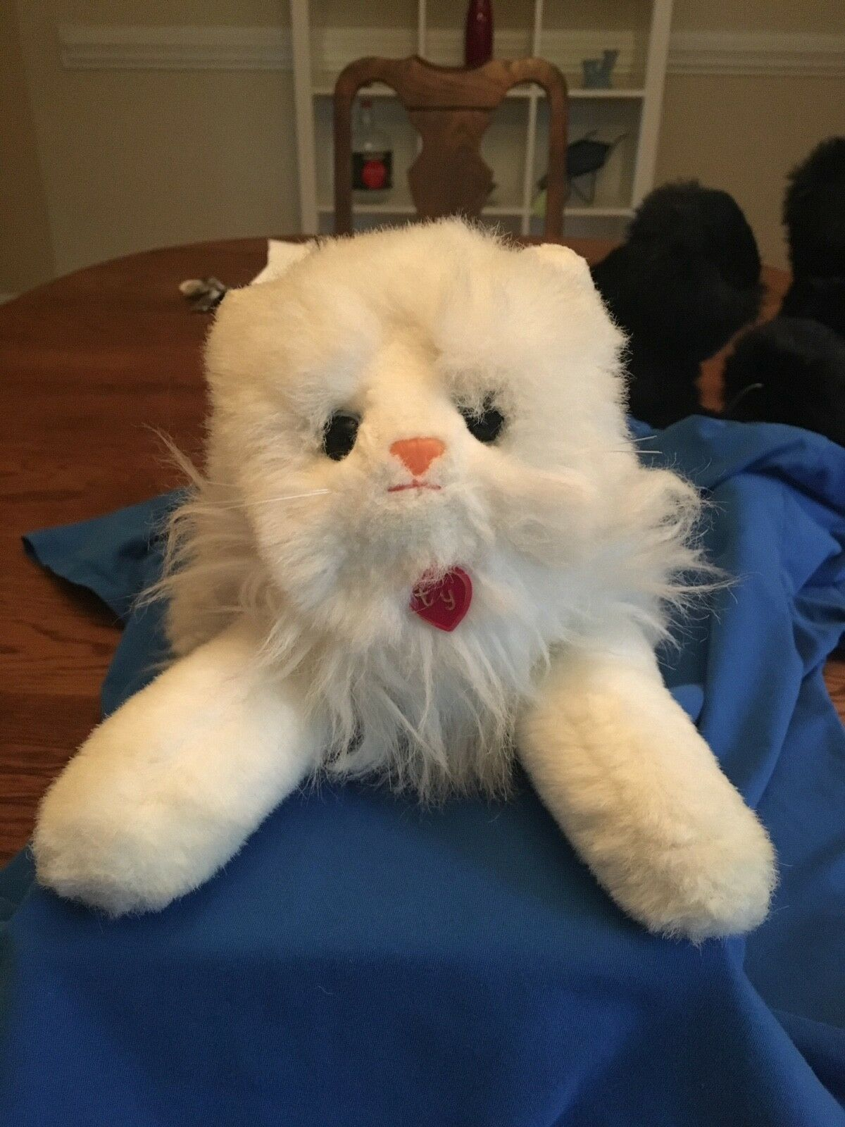 1987 Vintage Ty Plush Angel No Hang Tag with with with Ex Plastic Charm 69d226