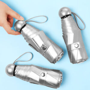 Women-039-s-Ultralight-Pocket-Mini-Umbrella-Five-folded-UV-Blocking-Parasol-Umbrella