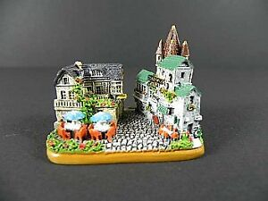 Drosselgasse Rüdesheim Modell,Souveni<wbr/>r Germany Deutschland,ha<wbr/>ndbemalt