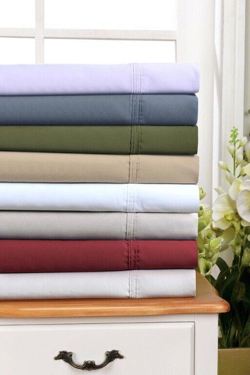 Superior 4-pc Queen Size Egyptian Cotton 800 TC Sheet Set