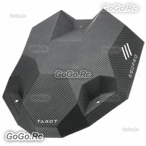 Tarot 680PRO Carbon Fiber Pattern Canopy Hood Head Cover For Drone - TL2851
