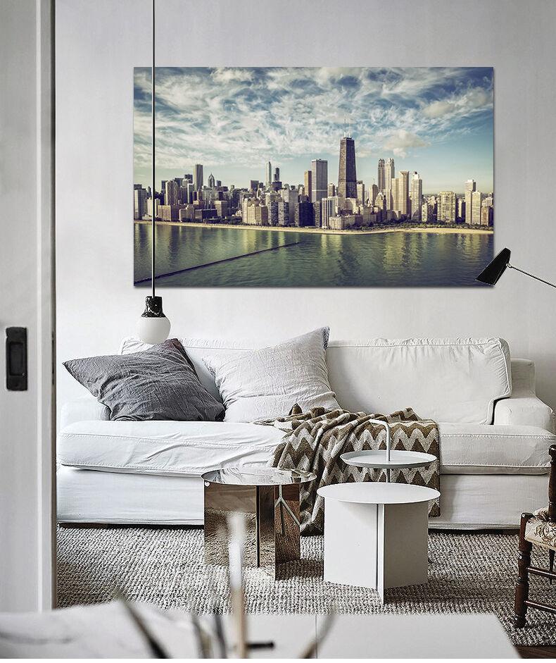 3D Luxus Stadt Wolke Meer 946 Fototapeten Wandbild BildTapete AJSTORE DE Lemon | Attraktive Mode  | Neuheit  | Angemessener Preis