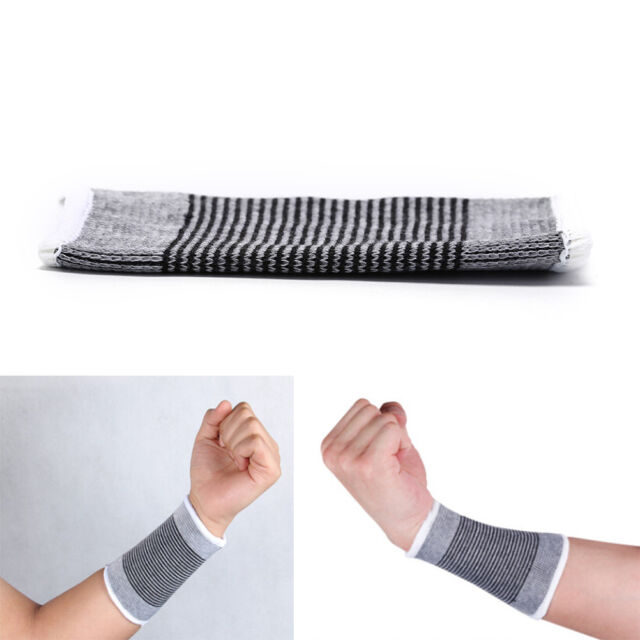1PC Wrist Support Sweat Band Sweatband Wristband Basketball Tennis Gym SP