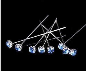 12-36-or-72-4cm-Light-Blue-Quality-Diamante-Pins-Luxury-Crystal-Diamonte-1-5-034