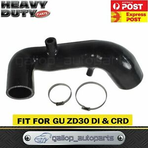 Details about Fit Nissan Patrol GU ZD30 Turbo Induction Intake Pipe Upgrade  Performance Black