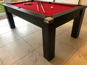 Details About Dpt Avant 2 0 Pool Dining Table 6ft And 7ft Slate Bed