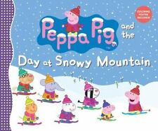 Peppa Pig and the Day at Snowy Mountain-ExLibrary
