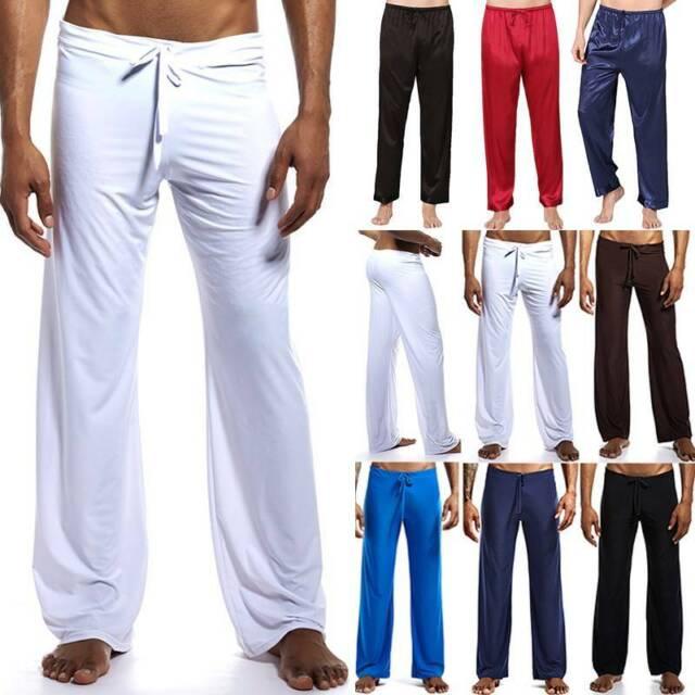 Lacoste Mens Sleepwear Sleep Pants PJ Bottoms Lounge XL Ram6101 Black for  sale online | eBay