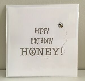 Happy Birthday Honey Children/'s Birthday Card
