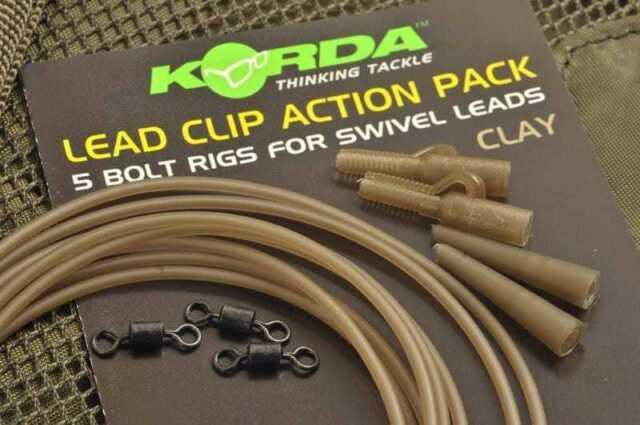 Korda Lead Clip Action Pack Carp Fishing