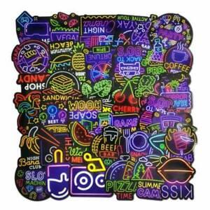 50X Cool Skateboard Sticker Bomb Vinyl Luggage Laptop Car Graffiti Decals Pack