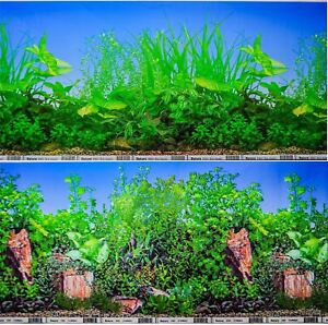 12-034-Double-Sided-Aquarium-Background-Backdrop-Fish-Tank-Reptile-Vivarium-Marine