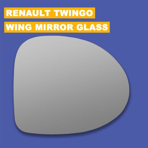 For Renault Twingo wing mirror glass 07-10 Right Driver side Spherical