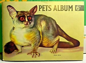 Hornimans-Teas Since 1826-Pets Album-Tea Cards-by Maxwell Knight-1955-Complete