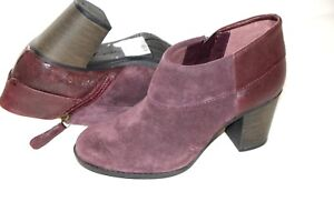 quite nice find lowest price buying cheap Details about Clarks Aubergine Suede Ladies boots/shoes size 6/39.5 D New