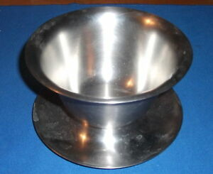 Vintage Vollrath 6206 Stainless Gravy Bowl, Mixing Serving Bowl with ...