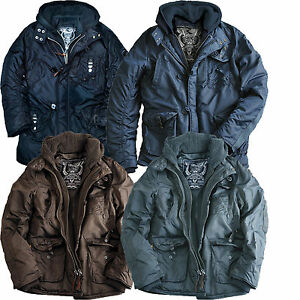 best sneakers 36908 5fc67 Details zu Alpha Industries Cobbs 2 Winter Parka Mantel Jacke Winterparka  Wintermantel Coat