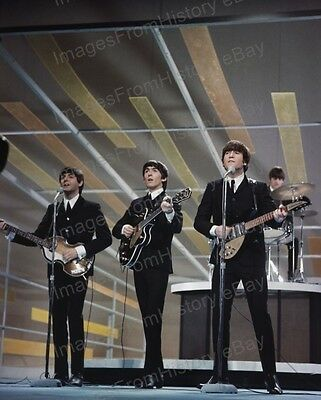 8x10 Print Beatles Ed Sullivan Show 1964 John Lennon George Harrison Jl69 Ebay