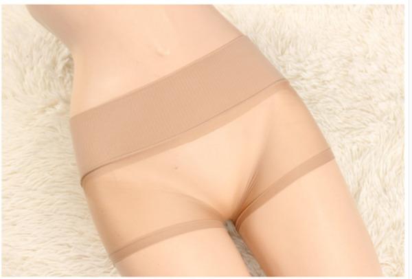 Damen Nahtlos Pantys Slip String Unterhose Dessous Unterwäsche Nylon Boxershorts