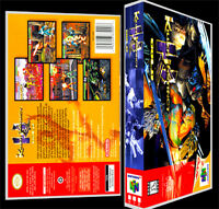 Killer Instinct Gold - N64 Reproduction Art Case/box No Game.