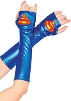 Supergirl Arm Warmers Gauntlets Adult One Size
