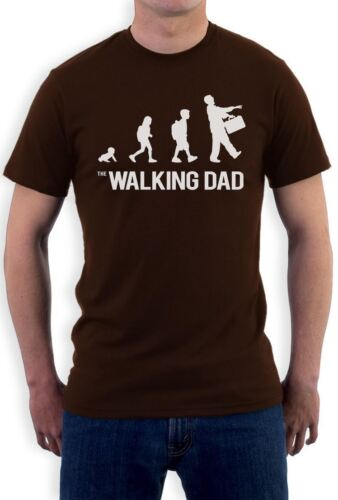 The Walking Dad Evolution Funny Sarcastic Fathers Parody T-Shirt Gift Idea