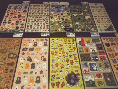 Japanese Cute Shiba Inu dog animal Premium Quality Stickers scrapbooking
