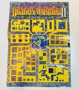 Details about NES Nintendo Labyrinth World of Dragon Warrior II 2 Map on dragon quest item map, teenage mutant ninja turtles map, call of duty map, indiana jones map, dragon quest ix map, dragon quest 1 map, dragon cave map, legacy of the wizard map, secret of mana map, skyrim dragon map, the guardian legend map, black dragon lair map, dragon quest 8 map, milon's secret castle map, dragon quest vi map, dragon quest 2 map, dragon quest 3 map, back to the future map, river city ransom map, dragon quest 4,