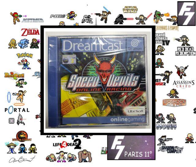 Speed Devils Online Racing SEGA DREAMCAST NEUF NEW VERSION PAL EURO.