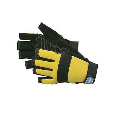 Silverline Latex Builders Gloves One Size DIY Safety and Workwear Tool