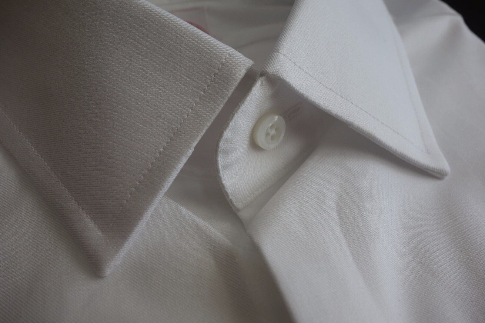 NWT Brooks Bredhers White Spread Collar Shirt 16-33 USA MSRP