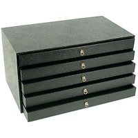 Jewelry Organizer Chest Drawer Storage Display Case Box Holder Necklace .