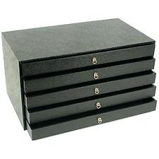 Jewelry Organizer Chest Drawer Storage Display Case Box Holder Necklace New .
