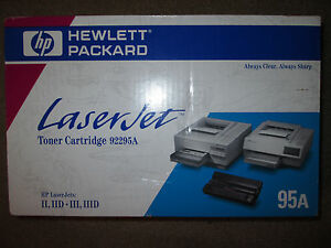 Genuine hp 92295a c4195a toner cartridge 95a new sealed for 92295a