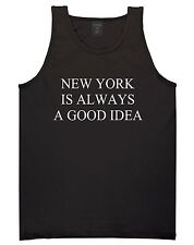 Kings of NY New York Is Always A Good Idea Tank Top T-Shirt Jersey Brooklyn NYC