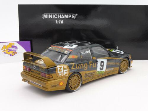 "Ludwig /"" 1:18 Minichamps 155913609 # Mercedes Benz 190E 2.5-16 Evo 2 Macau /"" K"