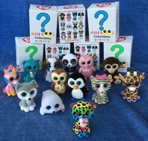 W-f-l Ty Mini Boos Figurines À Collectionner 5 Cm Glubschis Séléction