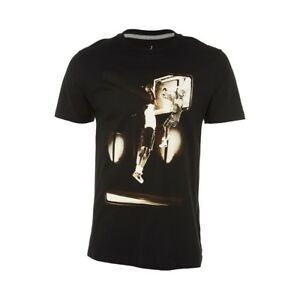 ac6aad11c Image is loading NIKE-AIR-JORDAN-PHOTO-PRINT-T-SHIRT-BLACK-