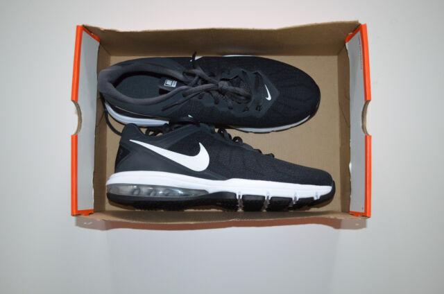 8e2b7442b9962 Nike Air Max Full Ride TR Black Grey Mens Cross Training Shoes 819004-001 9
