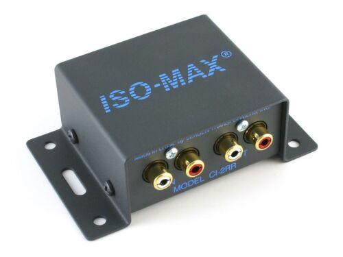 Jensen Transformers CI-2RR ISO-MAX Stereo Audio Hum//Buzz Eliminator//Isolator