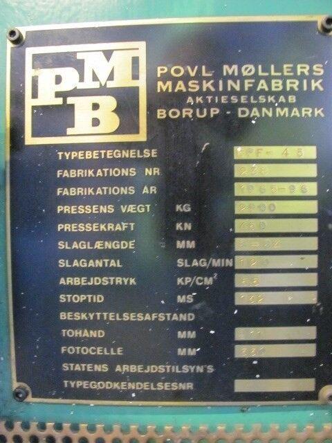 Excenterpres, PMB