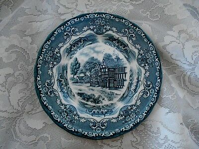 Vintage Piatto Grindley England English Country Inns Campagna inglese