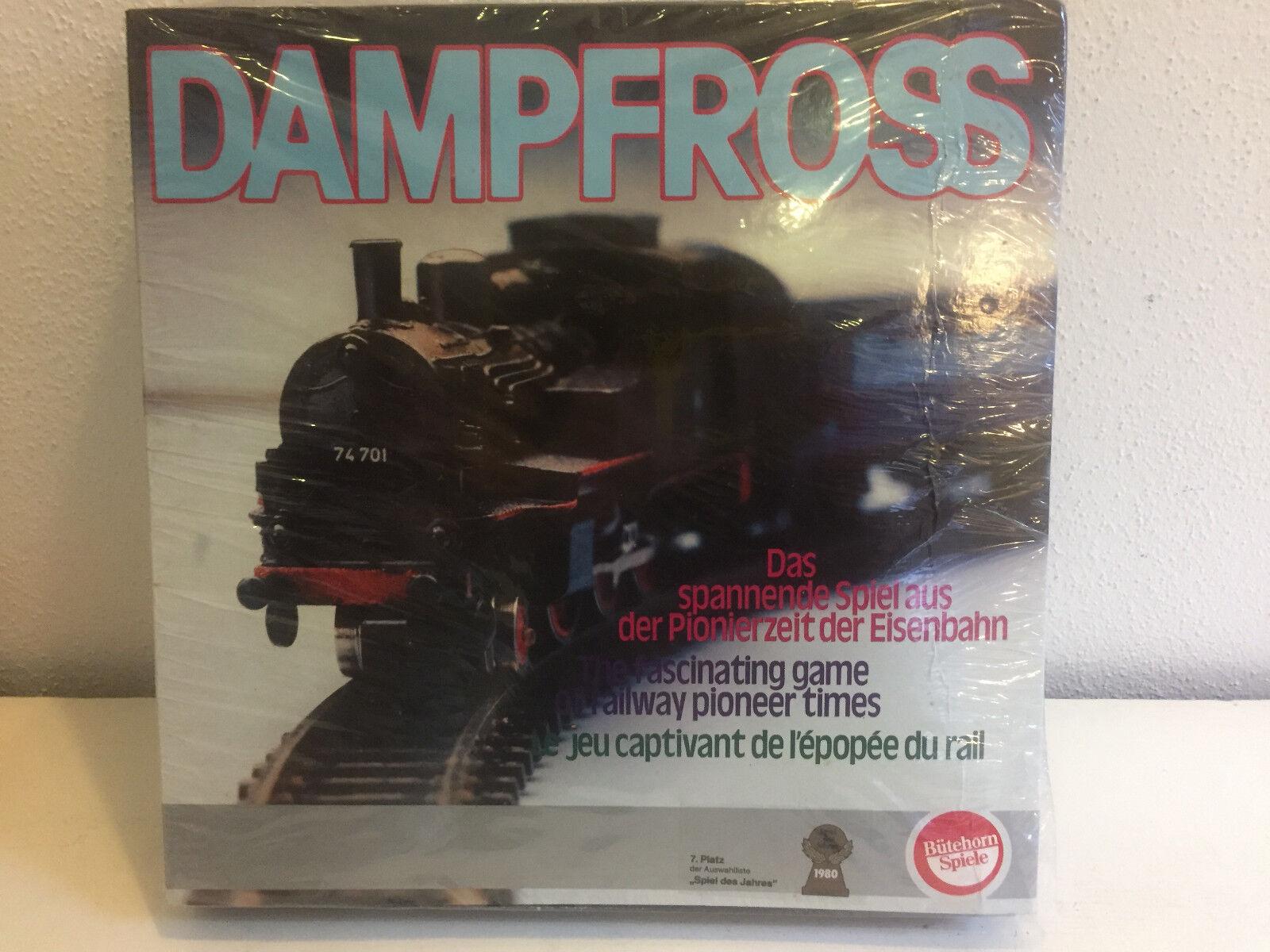 Vapore Ross entusiasmante gioco ferroviario di bütehorn Rarità Nuovo E Ovp Brett RAR