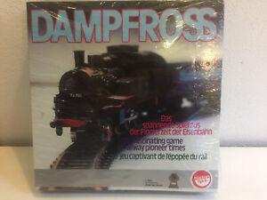 Dampfross-spannendes-Eisenbahn-Spiel-von-Buetehorn-Raritaet-neu-und-OVP-Brett-RAR