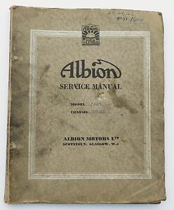 Original-Albion-Ft-25-amp-Ft-27-Servicio-Manual-De-Taller
