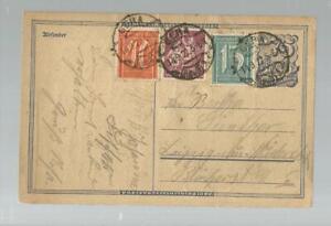 13468-1922-Infla-GA-DR-75-Pfg-Zusatz-Gera-gest